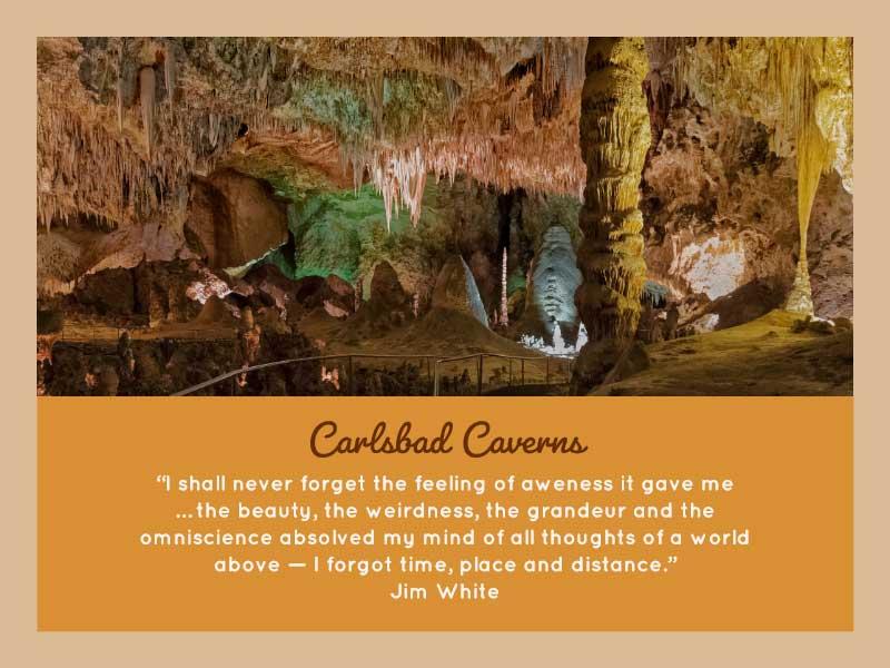 Carlsad Caverns quote