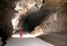 Snowy River cave at Fort Stanton