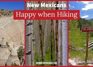 Happy when hiking