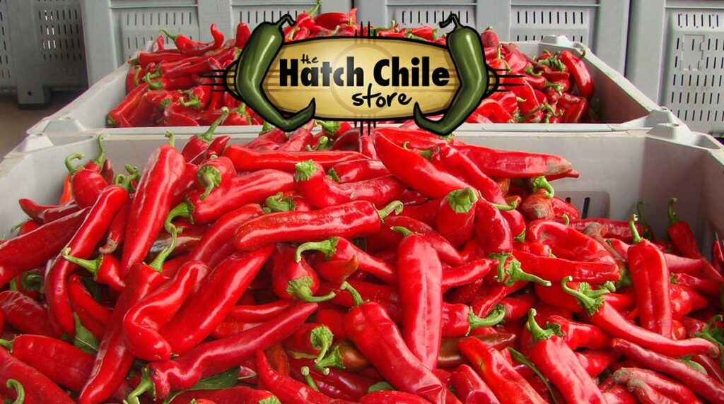 Red chile from Hatch