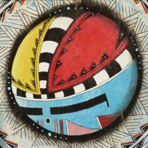 Painting of a Zuni kachina