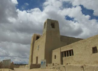 San Esteban Mission in Acoma Pueblo