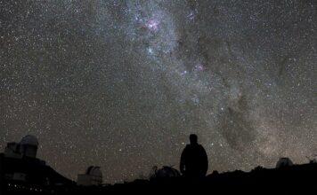Star gazing in Los Alamos