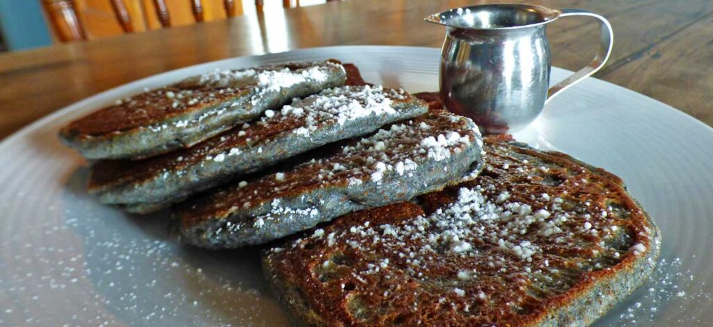 Blue Corn Pancakes 2