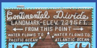 Continental Divide Trail explanation