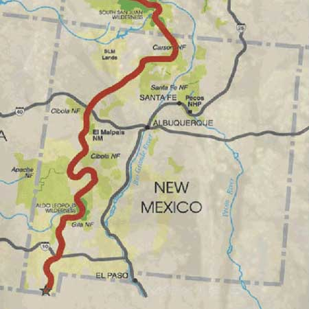 Continental Divide Trail | New Mexico Nomad on map tx nm, map of cuba new york, map of cuba mo, map of cuba united states, map of cuba puerto rico, map of new mexico,