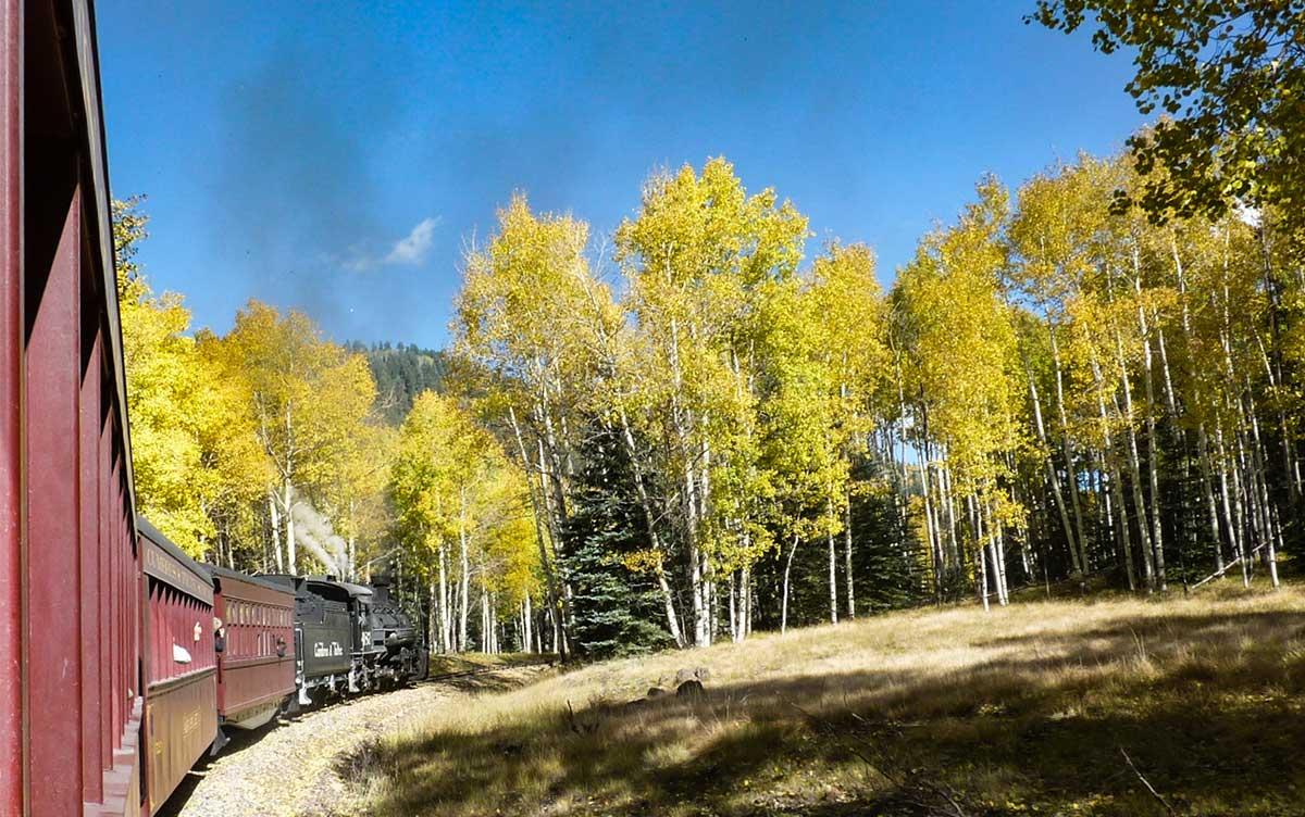 Cumbres Toltec autumn