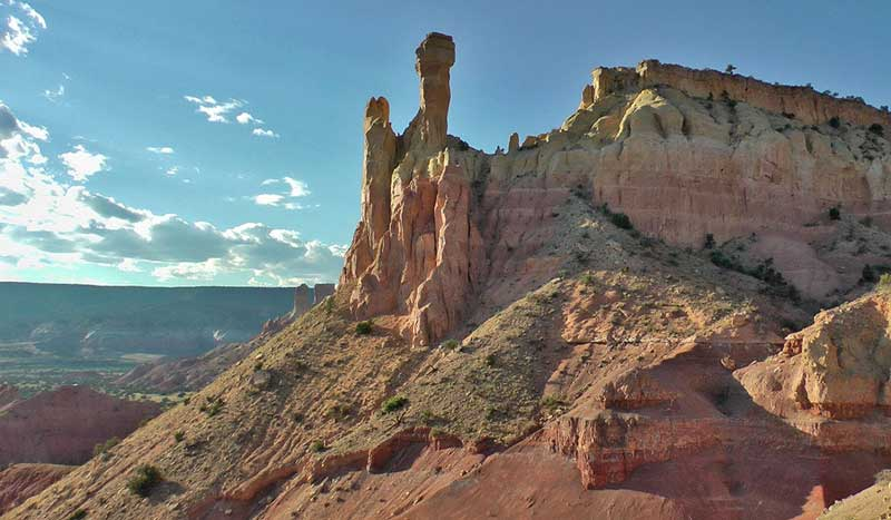 Ghost Ranch spires