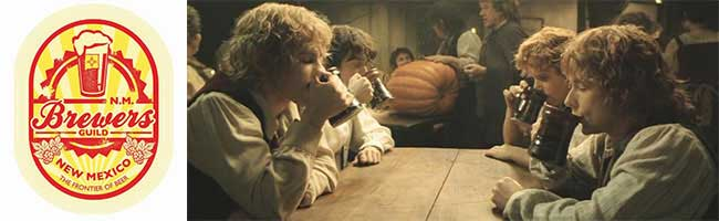 Hobbits enjoy their ale