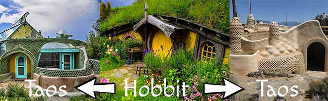 Hobbit Homes and Earth Ships