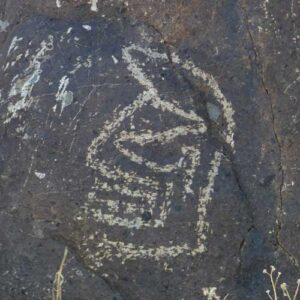 Masaw at Three Rivers Petroglyphs