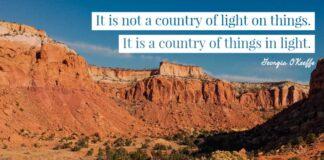 Georgia O'Keeffe quote