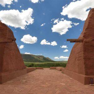 Pecos Pueblo mission