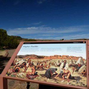 Pecos Pueblo Revolt sign