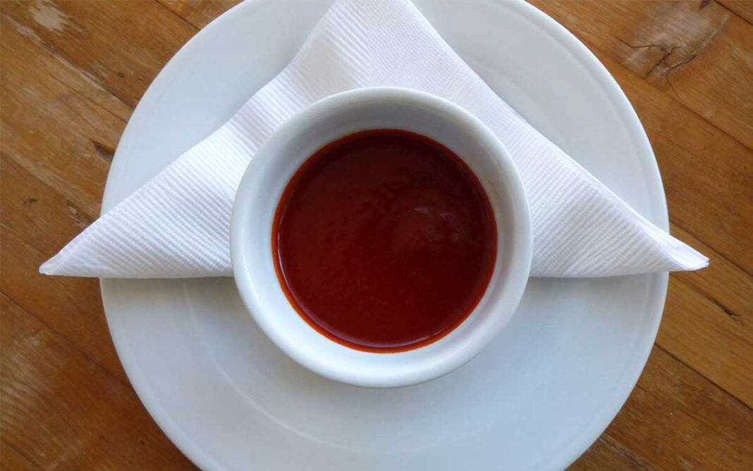 Serving of red chile