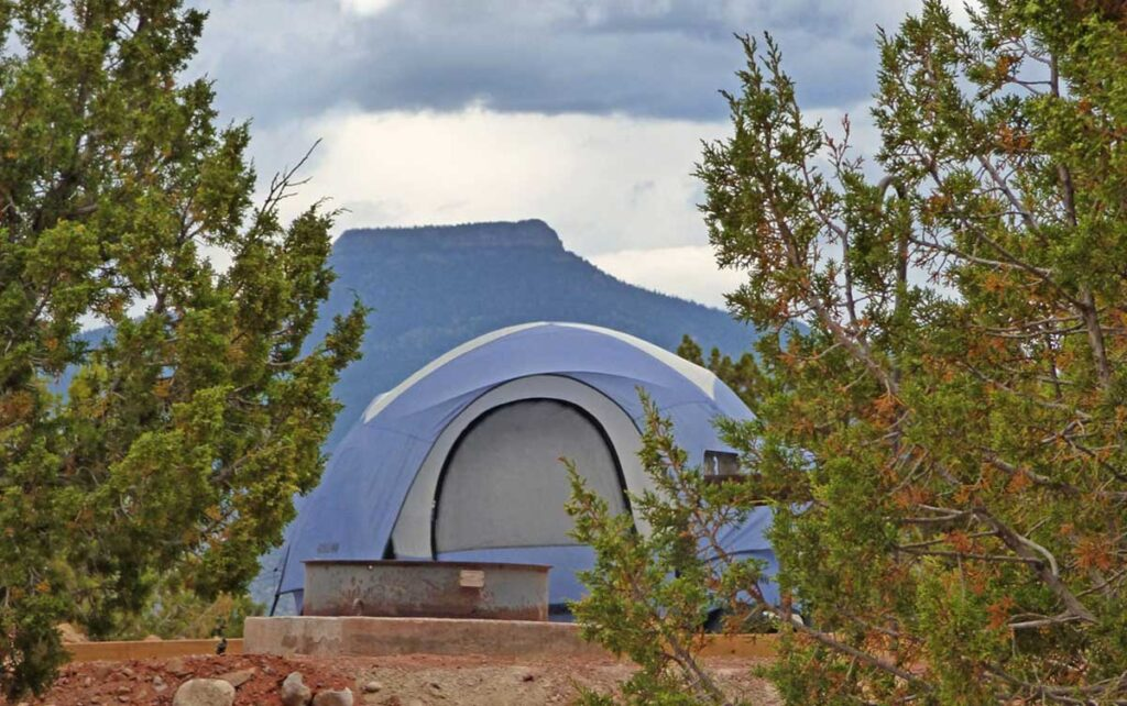 Riana campground at Abiquiu Lake