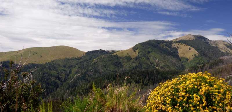 Sierra Blanca view