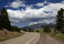 Highway 4 through the Jemez
