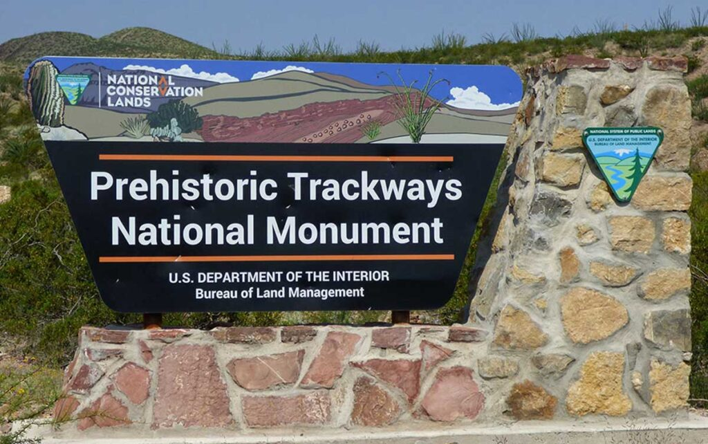 Prehistoric Trackways National Monument