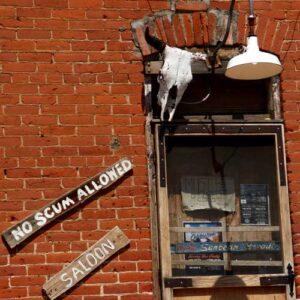 No Scum Allowed Saloon