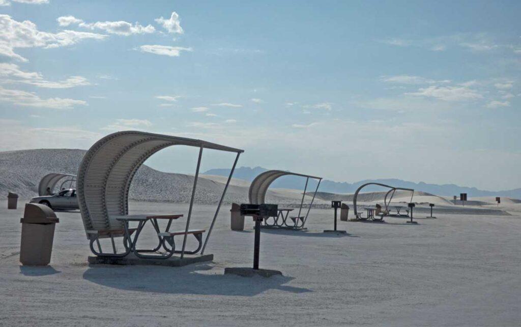 White Sands picnic area