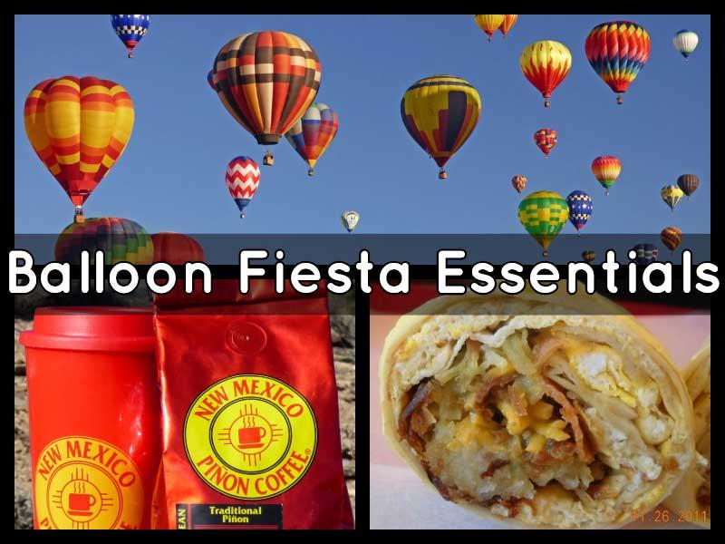 Balloon Fiesta essentials