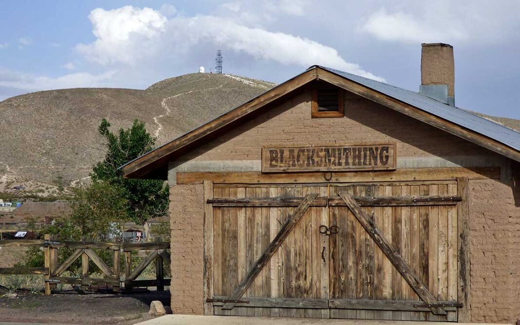 New Mexico Farm and Ranch Heritage Museum blacksmith shop