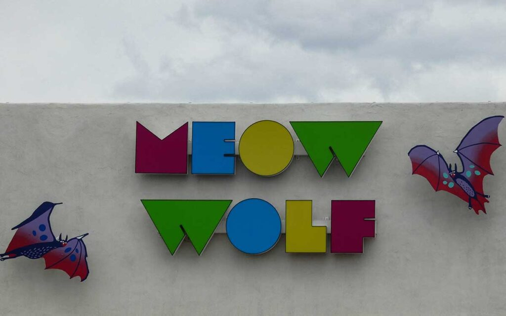 Meow Wolf entrance