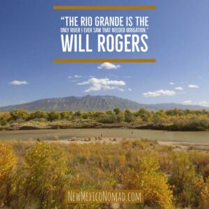 Will Rogers Rio Grande quote