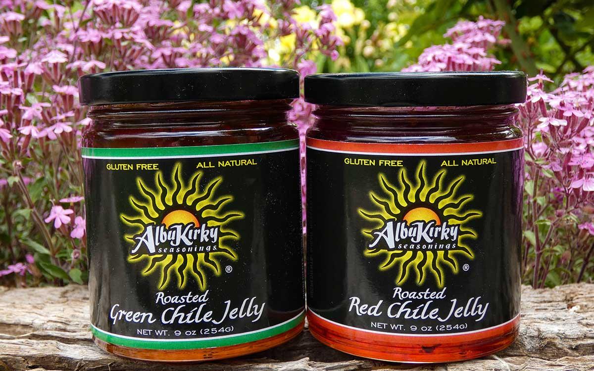 Albukirky Seasonings jellies