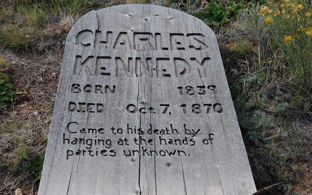 Charles Kennedy Grave Marker