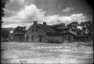 Maxwell house in Cimarron