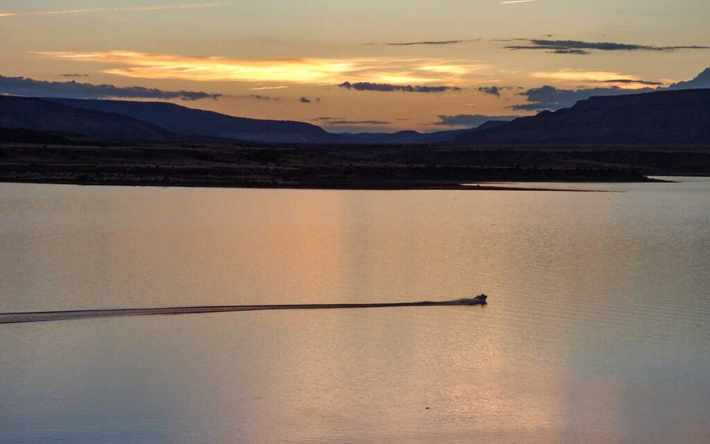 Abiquiu Lake sunset