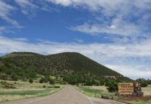 Capulin Volcano National Monument entrance