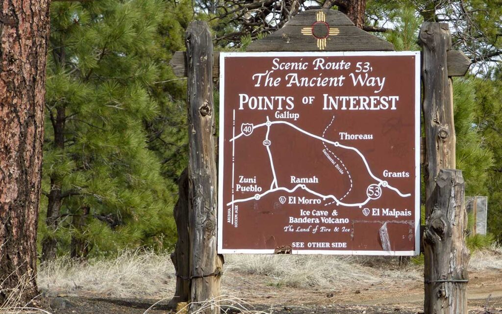 Point of interest on Highway 53
